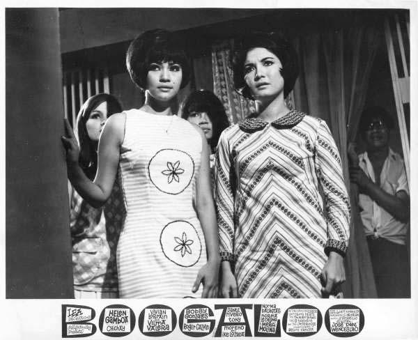 Boogaloo-68-lobby photo card- HelenG and Vilma V-2